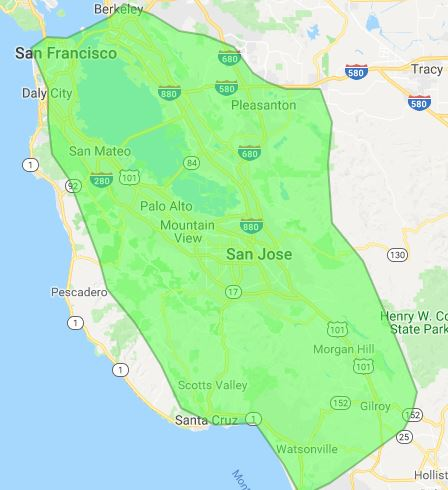 San Francisco Wireless Internet Coverage Map